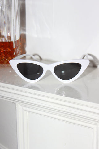 'MIAMI VICE' Chocolate Milkshake Chunky Frame Sunglasses