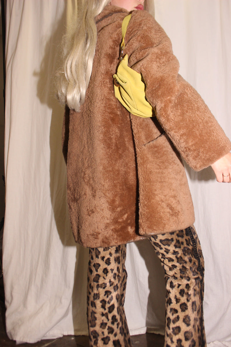 Vintage 80s Gold Tone Pearl Mini Earrings