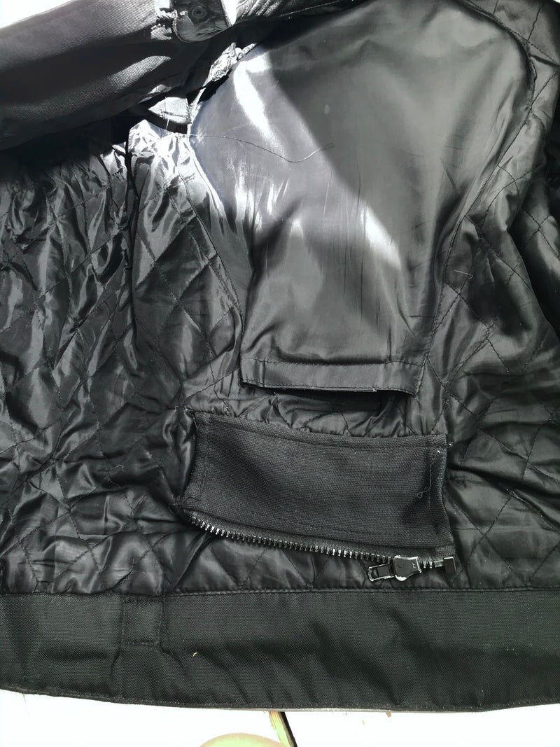 vintage 90s Leather Racing Biker Babe Jacket