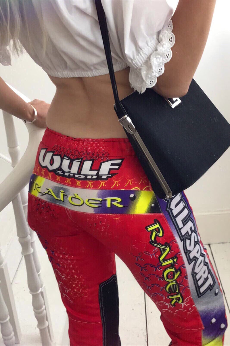Vintage 90s y2k Youth Wulfsport Dirt Bike / Motorcoss Trousers