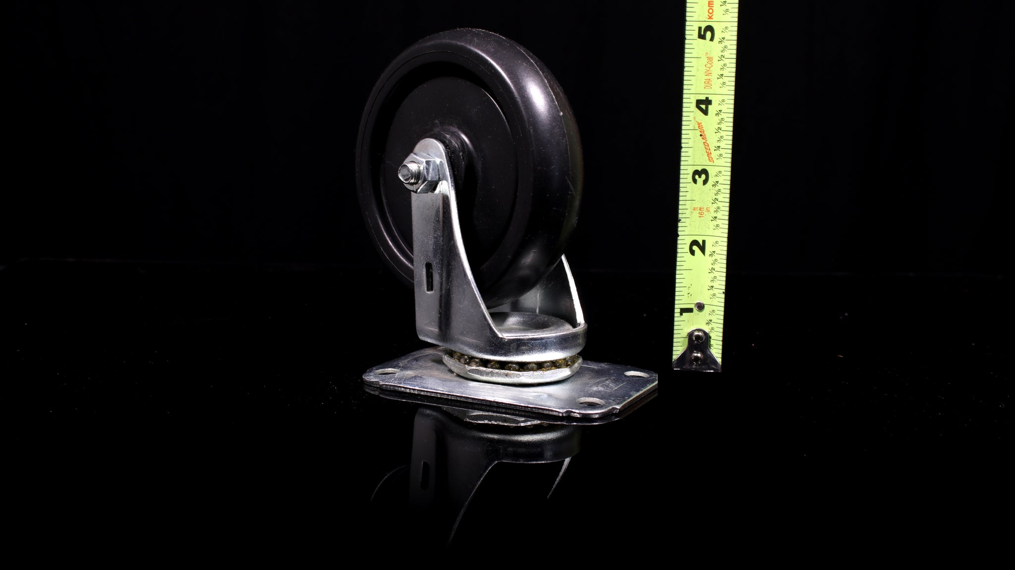 "4"" caster plate wheel for hoist (Back Wheel)"