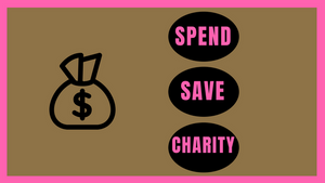Kids and Money…spend/save/charity