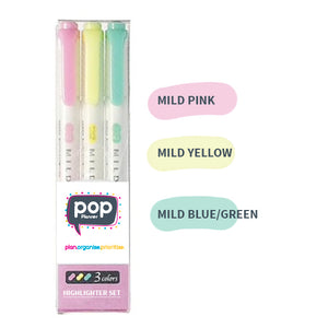 Pop Highlighter 3 pack