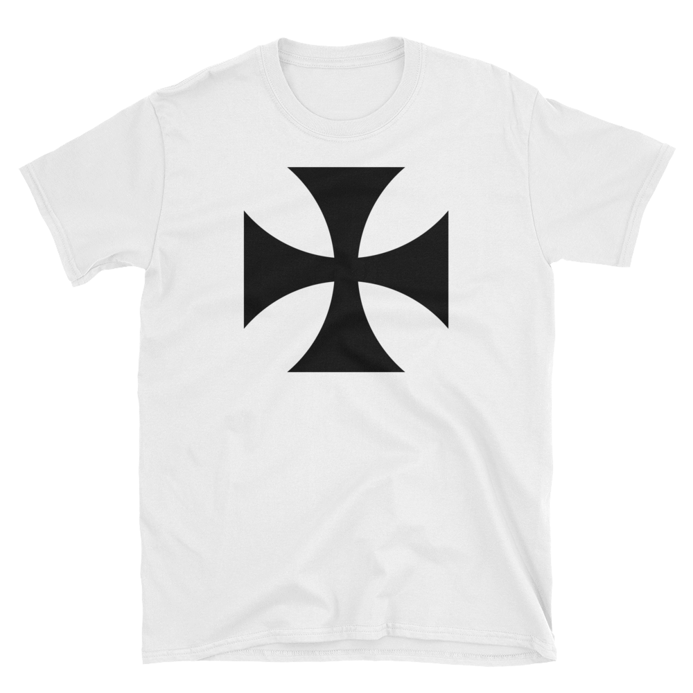 02e4fd815 German Iron Cross T-Shirt by Nuthouse Designs