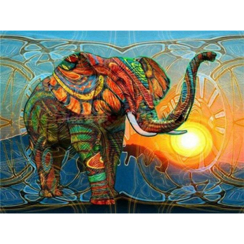 Image of Abstract Elephant