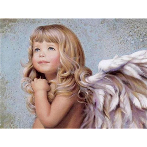 Image of Angelic Little Girl