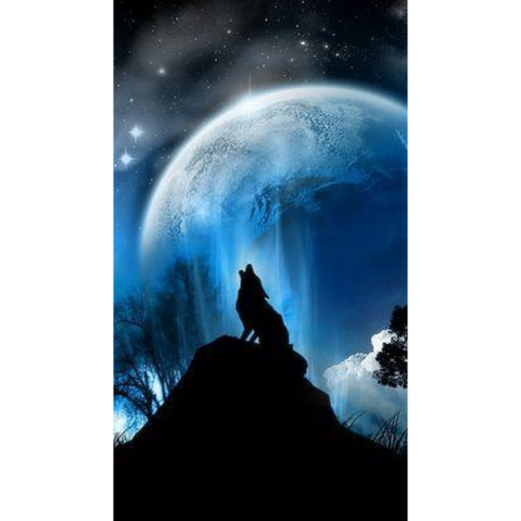 Image of Blue Moon Howl 2
