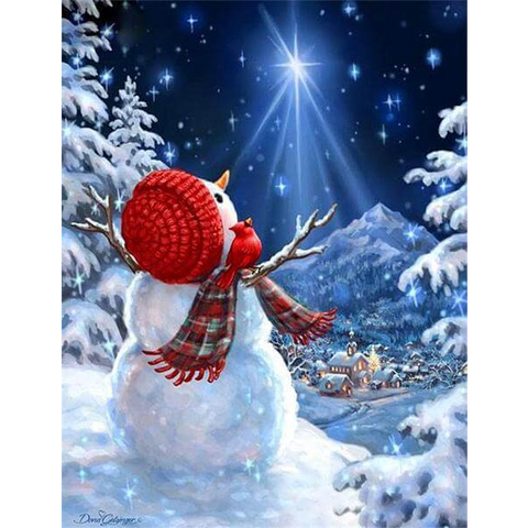 Image of Christmas Snowman