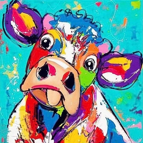 Image of Colorful Cow 2