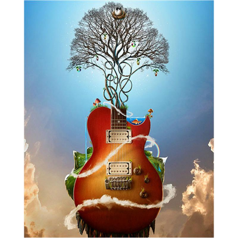 Image of Guitar Tree