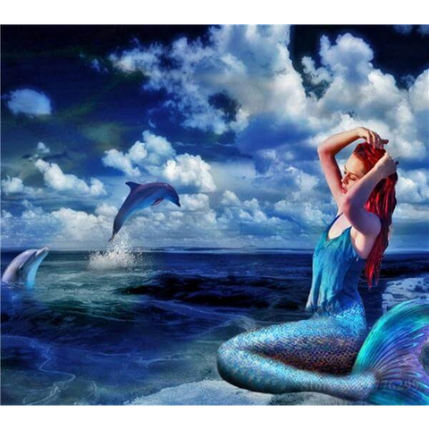 Image of Mermaid Dolphins 1