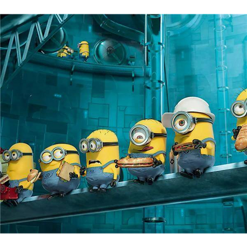 Image of Minions at Work