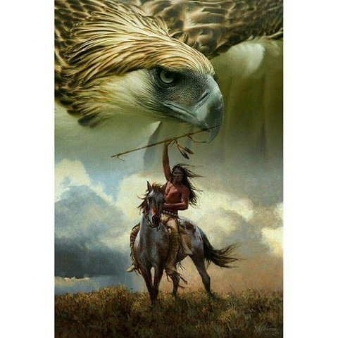 Image of Native American Eagle