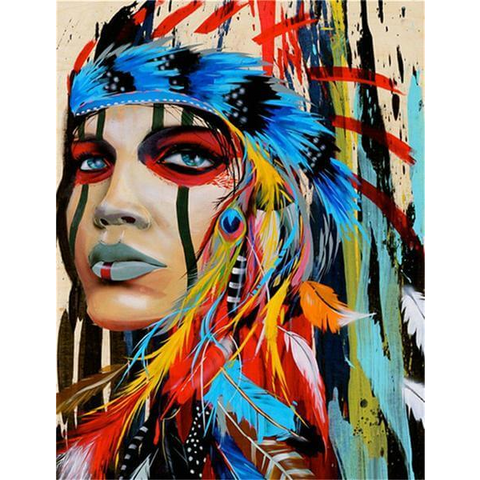 Image of Native American Girl
