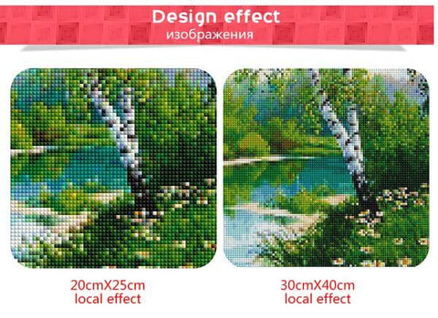 Image of River Trees