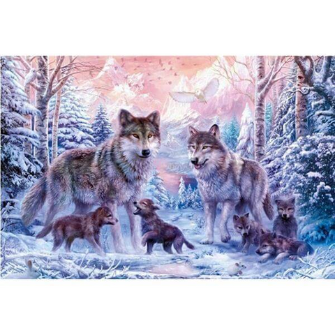 Image of Wolf Family
