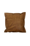 the natural leather cushion