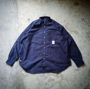 1.   HANGEReering® BIG SHIRT LS (NON-COLLAR) - NAVY
