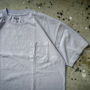 1. HANGEReering x MINE DUCT TAPE POCKET SS (GRAMENT DYE GRAY)