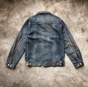HANGEReering DENIM JACKET (DMGD)