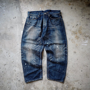 2.HANGEReering WASHED DENIM (DRIPS)