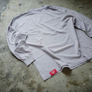 1. HANGEReering x MINE DUCT TAPE LS (GRAMENT DYE GRAY)