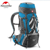 Naturehike 70L tactical waterproof backpack