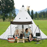 Pyramid tent 3 to 8 people