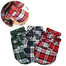 Plaid Dog Clothes Summer Dog Shirts for Small Medium Dogs Pet Clothing Yorkies Chihuahua Clothes Best Sale 11by20S1