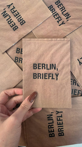 Berlin, Briefly- zine - MartinaMartian