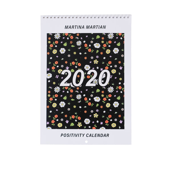Positivity Calendar 2020 - MartinaMartian