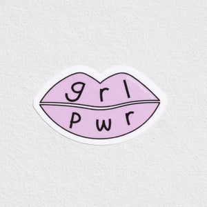 """GRL PWR"" Sticker - MartinaMartian"