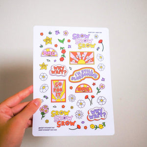 2019 Blossom Vinyl Sticker Sheet [NEW]