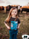 One in a Million Calf Kids Western Tee