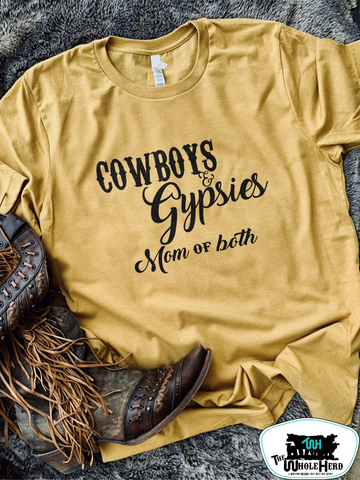 Cowboys & Gypsies Adult Western Graphic Tee