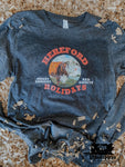 Hereford Holidays Kids Western Graphic Tee