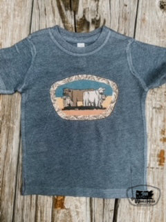 The Herd Kids Western Graphic Tee