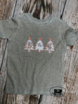 Christmas Cowboys Kids Western Graphic Tee