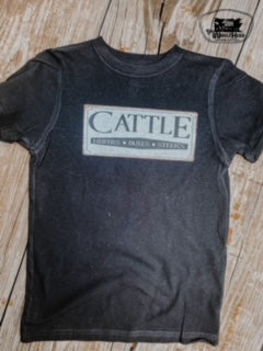 Cattle Sign Adult Western Graphic Tee
