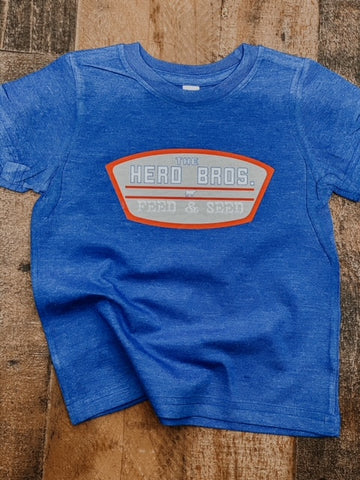 RTS Herd Bros. Feed and Seed Kids Western Graphic Tee