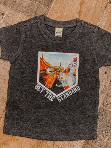 RTS Set The Standard Kids Western Graphic Tee
