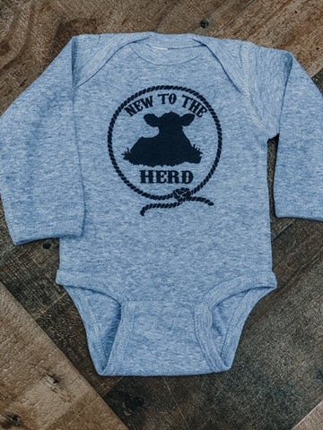 RTS New to the Herd Kids Western Tee