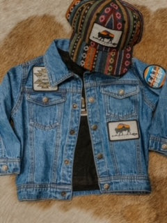 Vintage Cowboy Kids Denim Jacket