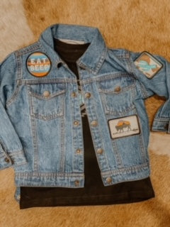 Vintage Cowgal Kids Denim Jacket