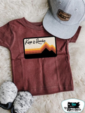 Keep it Ranchy Kids Western Tee