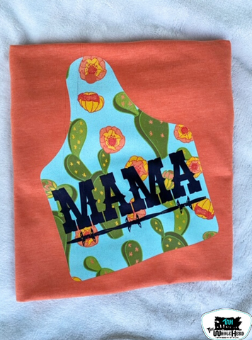 Ear Tag Mama Adult Western Graphic Tee