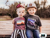 Can't Be Tamed Kids Western Tee