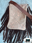 Concealed Carry Mustang Cowhide Bag
