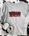 Buffalo Plaid Herd Adult Western Graphic Tee