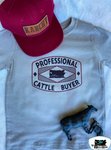 Professional Cattle Buyer Adult Western Graphic Tee